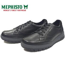 メフィスト パコ MEPHISTO PACO 8900 MONTANA BLACK ローカット スニーカー メンズ ウォーキングシューズ 防水 レザー 本革 ポルトガル製 送料無料