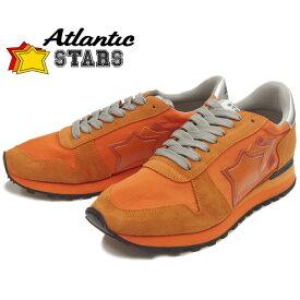 Atlantic STARS アトランティックスターズ メンズ スニーカー ARGO アルゴ ARANCIO レザー カジュアル シューズ ローカット 靴 men's sneaker 送料無料 2019春夏新作 【あす楽対応】