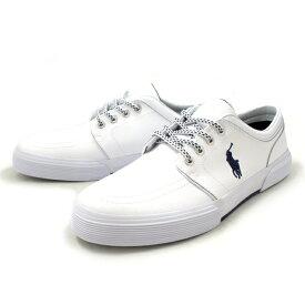 ポロ・ラルフローレン スニーカー メンズ POLO RALPH LAUREN ポロ ラルフローレン R921 〔ホワイト〕 スリッポン men's shoes sneaker 2015SS