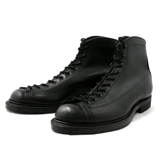 红翅膀正规的物品RED WING 2995 Lineman Boots WIDE PANEL LACE TO TOE店铺限定型号[BLACK]线人工作长筒靴红翅膀REDWING BOOTS红·翅膀men's boots