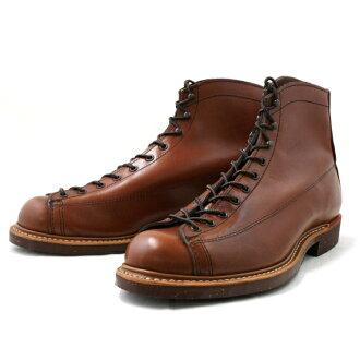 紅翼真正紅翼 2996年線務員靴寬面板花邊到腳趾存儲限量版 [雪茄] 流水線工作靴紅翼紅靴紅翼男靴