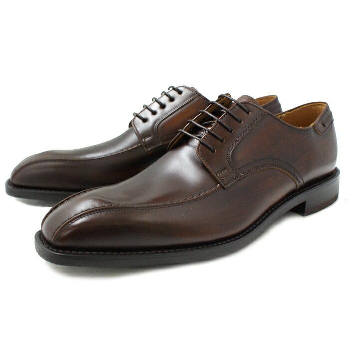 リーガル 靴 メンズ ビジネスシューズ スワールトゥ 本革 外羽根 REGAL 03AR 〔ダークブラウン〕 メンズ ビジネスシューズ 日本製 business shoes men's