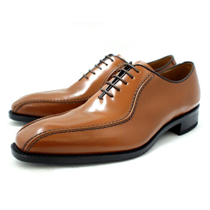 リーガル 靴 メンズ ビジネスシューズ スワールトゥ 本革 内羽根 REGAL 318R 〔ブラウン〕 メンズ ビジネスシューズ 日本製 business shoes men's
