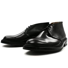 正規品 Tricker's トリッカーズ チャッカブーツ Winston ウィンストン M7468 ブラック ダイナイトソール fitting5 メンズ ブーツ 送料無料 【あす楽対応】
