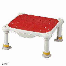 軽量浴槽台 すべり止めシートタイプ ジャスト レッド 16-26 536-555<アロン化成>