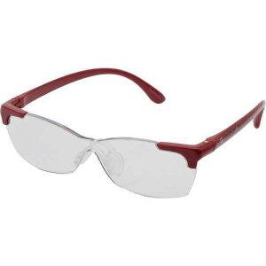 メガネ型拡大鏡/AM41 花柄 赤<キングジム>
