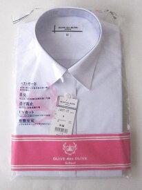 レギュラーカラーシャツ(半袖)形態安定・消臭・透け防止・UVカットOLIVE des OLIVE Schoolオリーブデオリーブスクール