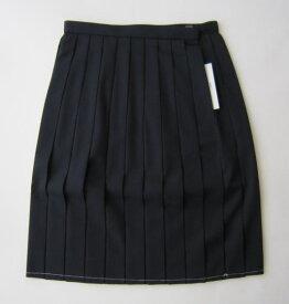 夏用スカート(紺) エル エコールウール50%/ポリエステル50%