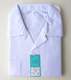 男子スクール開襟シャツ ON長袖シャツ/制服/開衿スクールシャツ/日本製/ジュニアサイズ/100〜170サイズ