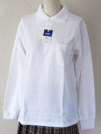 【2枚組】【送料無料】【男女兼用】 長袖ポロシャツ (綿100%)カンコー サラさらコットンポロシャツ通学・スクール・部活用に♪