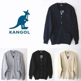 KANGOL カンゴール コットンカーディガン 制服/学生/カジュアル/スクールカーディガン