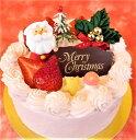 いちごクリームクリスマスケーキ5号(冷蔵)