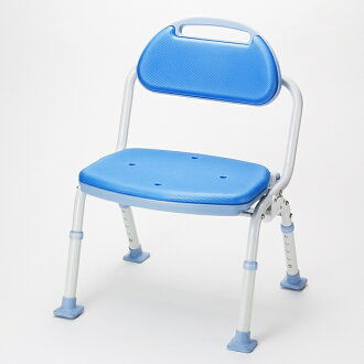 Folding shower bench Softek SBF-11BL (tall with type)