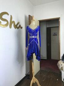 競技ダンス 社交ダンス ラテン ドレス ウエア ワンピース レディース パーティー 衣装