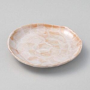 赤志野5.5皿 17cm 和食器 フルーツ皿・銘々皿・取皿 業務用