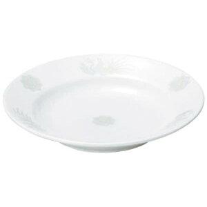 北京 8吋スープ 中華食器 丸皿 20cm〜30cm 業務用 日本製 磁器 約20.7cm 定食用皿 中華皿 プレート 盛皿 エビチリ 酢豚 中国料理 定番 スタンダード