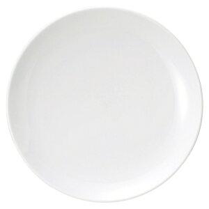 ウルトラホワイト中華 8吋メタ皿 中華食器 丸皿 20cm〜30cm 業務用 日本製 磁器 約20.9cm 単品メニュー用 定食用皿 中華皿 プレート 盛皿 エビチリ 酢豚 中国料理