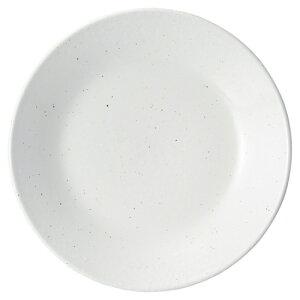 白粉引 8.0皿 中華食器 丸皿 20cm〜30cm 業務用 日本製 磁器 約24.6cm 単品メニュー用 定食用皿 中華皿 プレート 盛皿 エビチリ 酢豚 中国料理