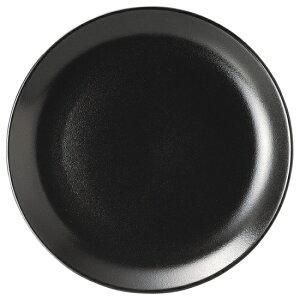 宮天目 9.5吋メタ皿 中華食器 丸皿 20cm〜30cm 業務用 日本製 磁器 約24cm 黒 中華皿 プレート 盛皿 エビチリ 酢豚 中国料理 焼肉店 肉皿