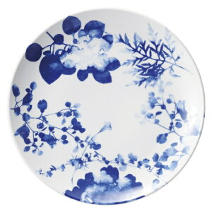 フローラル メタ玉9.0皿 中華食器 丸皿 20cm〜30cm 業務用 日本製 磁器 約28.2cm 単品メニュー用 大皿 中華皿 プレート 盛皿 エビチリ 酢豚 中国料理