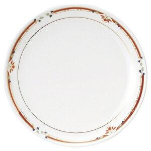 ニューボン紅華妃 10吋丸皿 中華食器 丸皿 20cm〜30cm 業務用 日本製 磁器 約26cm 単品メニュー用 大皿 中華皿 プレート 盛皿 エビチリ 酢豚 中国料理