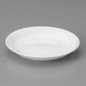 強化白20cm浅皿 中華食器 丸皿 20cm〜30cm 業務用 日本製 強化磁器 約20.4cm 単品メニュー用 定食用皿 中華皿 プレート 盛皿 エビチリ 酢豚 中国料理