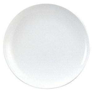 スーパーチャイナ 8インチ丸皿 中華食器 丸皿 20cm〜30cm 業務用 日本製 強化磁器 白 約20.7cm 単品メニュー用 定食用皿 中華皿 プレート 盛皿 エビチリ 酢豚 中国料理 カネスズ