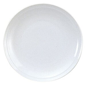白中華 7.0皿 中華食器 丸皿 20cm〜30cm 業務用 日本製 磁器 約21.2cm 単品メニュー用 定食用皿 中華皿 プレート 盛皿 エビチリ 酢豚 中国料理 カネスズ