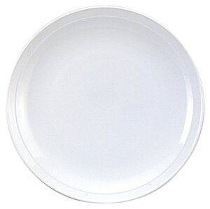 白中華 8.0皿 中華食器 丸皿 20cm〜30cm 業務用 日本製 磁器 約24.7cm 単品メニュー用 定食用皿 中華皿 プレート 盛皿 エビチリ 酢豚 中国料理 カネスズ