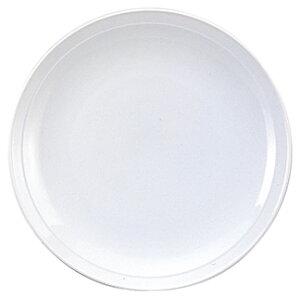 白中華 9.0皿 中華食器 丸皿 20cm〜30cm 業務用 日本製 磁器 約28cm 単品メニュー用 大皿 中華皿 プレート 盛皿 エビチリ 酢豚 中国料理 カネスズ