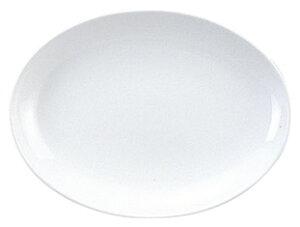 スーパーチャイナ 8インチプラター カネスズ 中華食器 プラター 楕円皿 20cm〜30cm 業務用 日本製 強化磁器 約21cm 中華皿 餃子皿 ギョーザ皿 楕円プレート 小判皿 焼肉店 肉皿