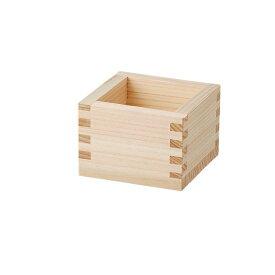 一合枡 檜 木製品 桝・酒の器 業務用 約83mm