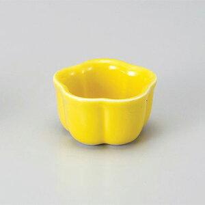 黄釉梅型珍味(小) 和食器 珍味 業務用 約5cm