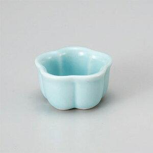 青磁梅型珍味(小) 和食器 珍味 業務用 約5cm