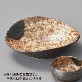 信楽織部たわみ型向付 和食器 刺身鉢・向付 業務用 約16.6cm