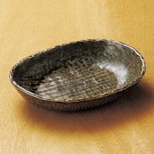 ダ円 茶 バスケット 和食器 楕円多用鉢 業務用 約22.3cm 和食 和風 鉢 サラダ 煮物 揚げ物 唐揚げ 刺身 定番 人気 おしゃれ シンプル