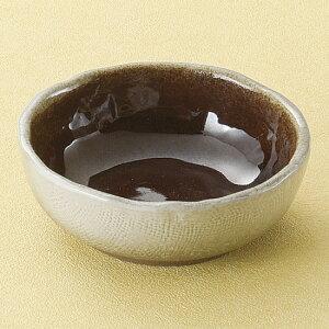 ブラウン3.0丸鉢 和食器 小付 業務用 約9cm お通し もずく酢 珍味 カップ 小鉢 小 たこわさ 人気 定番 デザート 杏仁豆腐 焼肉店