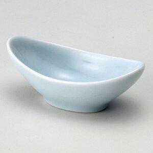 月型珍味青磁 和食器 珍味 業務用 約8.7cm 和食 和風 先付 小鉢 小 ミニ鉢 前菜 珍味入れ 付出し 松花堂 弁当 花籠膳 おせち