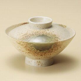 伊賀織部蓋付大茶 和食器 蓋付大茶 業務用 約14.8cm