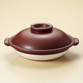 鉄赤10号スッポン鍋 萬古焼 和食器 すっぽん鍋 業務用 約35cm 和食 和風 高級