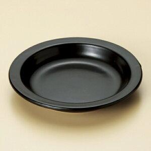 黒柳川皿 大 萬古焼 和食器 会席鍋・陶板(小) 業務用 約20(内寸16.3)cm 和食 和風 一人用 すき焼き 焼肉ステーキ 蒸し焼き 湯豆腐