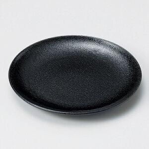 美濃粉引黒16.5cm皿 和食器 フルーツ皿・銘々皿・取皿 業務用 約16.5cm 和食 和風 プレート フルーツ デザート 和菓子 甘味 ケーキ 和テイスト 定番 取り皿