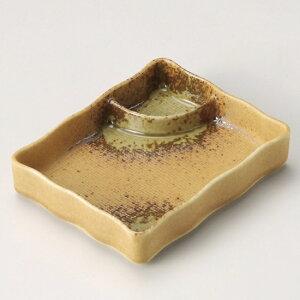 伊賀仕切付皿 和食器 仕切付焼物皿 業務用 約14.8cm 和食 和風 焼肉店 ポテトフライ ダイニング チーズフライ だし巻き玉子 寿司 刺身