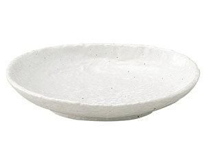 白粉引 5.0小判皿 和食器 フルーツ皿・銘々皿・取皿 業務用 約15.9cm 和食 和風 プレート フルーツ デザート 和菓子 甘味 ケーキ 和テイスト 定番 取り皿