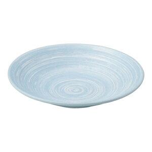 水色しぶき リップル5.0皿 和食器 フルーツ皿・銘々皿・取皿 業務用 約16.5cm 和食 和風 プレート フルーツ デザート 和菓子 甘味 ケーキ 和テイスト 定番 取り皿