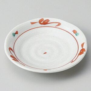 手描き赤絵4.0皿 和食器 フルーツ皿・銘々皿・取皿 業務用 約12cm 和食 和風 プレート フルーツ デザート 和菓子 甘味 ケーキ 和テイスト 定番 取り皿
