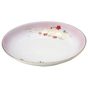 嵐山 4.0皿 和食器 フルーツ皿・銘々皿・取皿 業務用 約13.4cm 和食 和風 プレート フルーツ デザート 和菓子 甘味 ケーキ 和テイスト 定番 取り皿