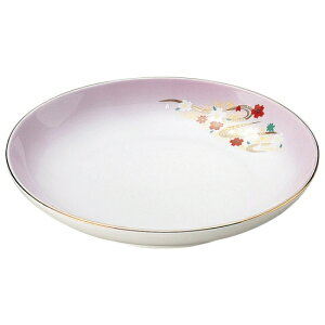 嵐山 5.0皿 和食器 フルーツ皿・銘々皿・取皿 業務用 約16.4cm 和食 和風 プレート フルーツ デザート 和菓子 甘味 ケーキ 和テイスト 定番 取り皿