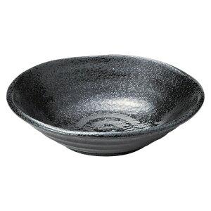らせんブラック 4.5深皿 和食器 フルーツ皿・銘々皿・取皿 業務用 約14.7cm 和食 和風 プレート フルーツ デザート 和菓子 甘味 ケーキ 和テイスト 定番 取り皿