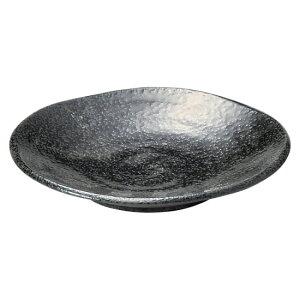らせんブラック 4.5寸浅皿 和食器 フルーツ皿・銘々皿・取皿 業務用 約14.4cm 和食 和風 プレート フルーツ デザート 和菓子 甘味 ケーキ 和テイスト 定番 取り皿